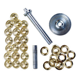 Coghlans ¼illets métalliques + outil